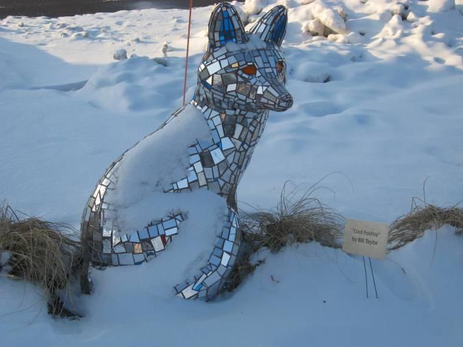 sparklefox sculpture in Waukesha WI