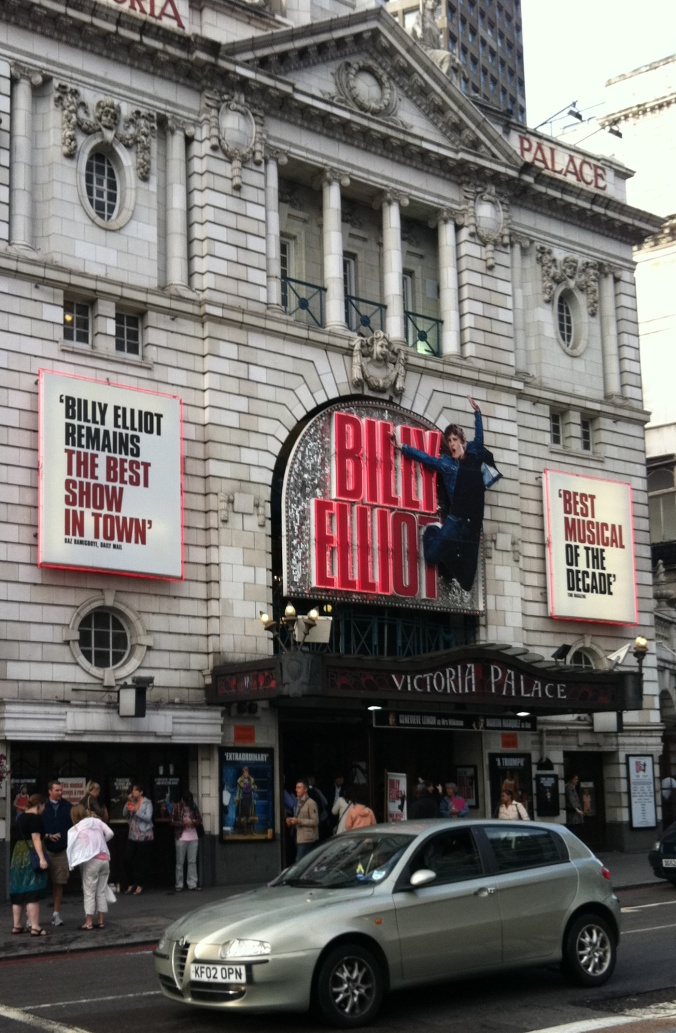 Billy Elliot at the Victoria Palace
