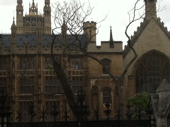 Westminster Abbey trees