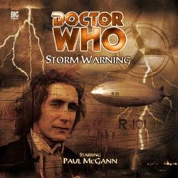 cover of Big Finish's Storm Warning